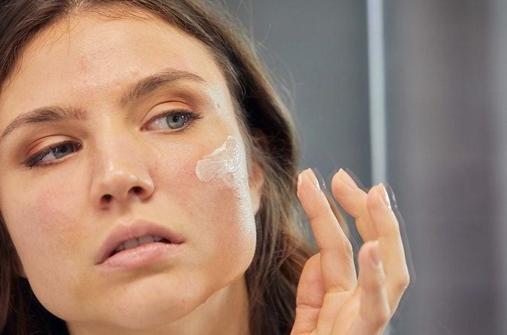 Alívio para a pele desidratada