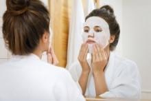 Limpeza facial em casa