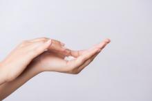 mãos secas