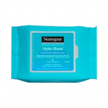 Neutrogena® Hydro Boost® Toalhitas de Limpeza Facial