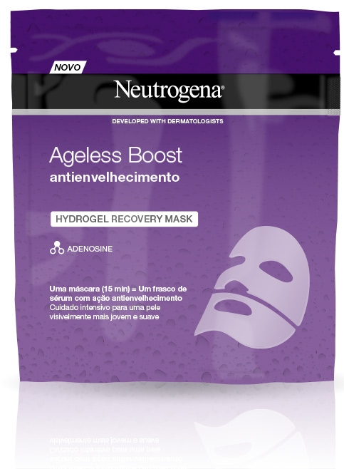 Ageless Boost Hydrogel Recovery Mask Antienvelhecimento