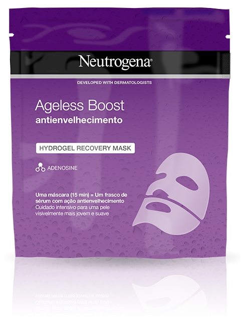 Ageless Boost Hydrogel Recovery Mask Antienvelhecimento