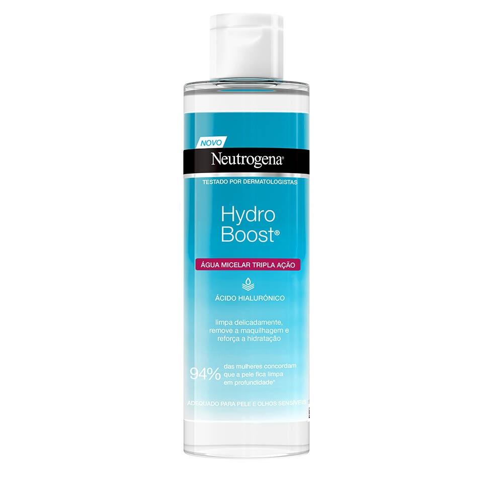 Neutrogena® Hydro Boost® Água Micelar Tripla Ação