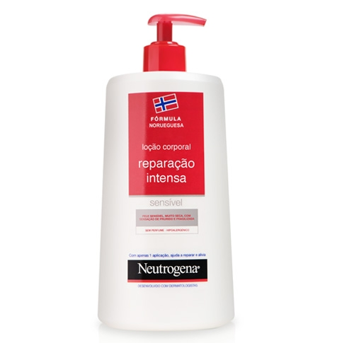 Neutrogena® Loção Corporal Reparação Intensa Pele Sensível