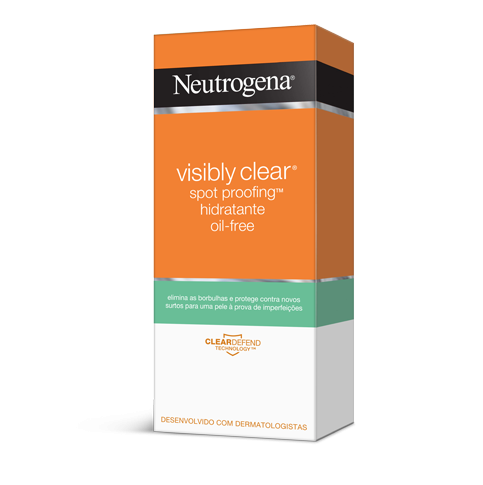 Neutrogena® Visibly Clear® Spot proofing™ Hidratante Oil free