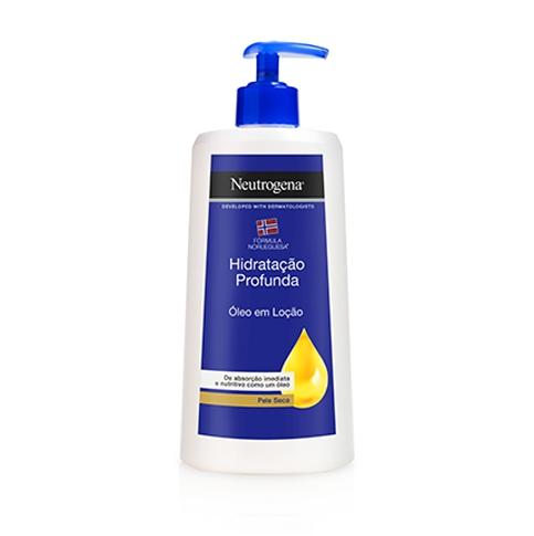 Neutrogena® Óleo em Loção  Hidratação Profunda