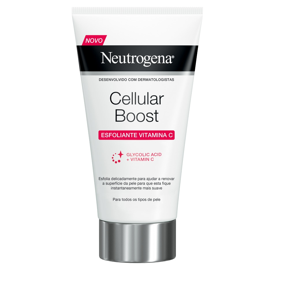 Neutrogena® Cellular Boost Creme Esfoliante Vitamina C