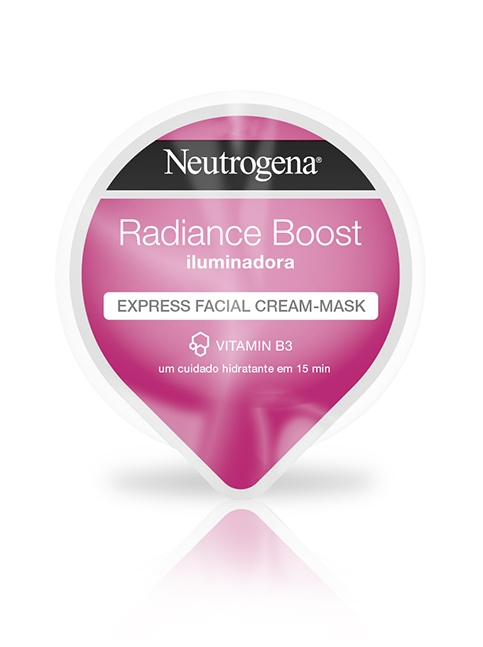 Radiance Boost Express Facial Cream-Mask Iluminadora