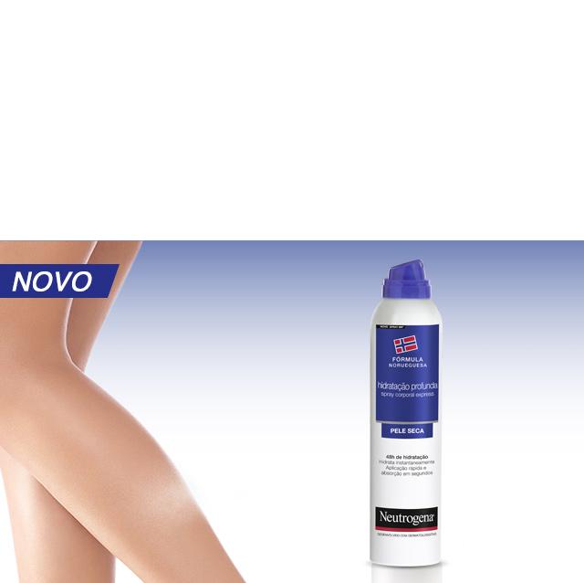 Neutrogena Spray Express. Descubra que é possível