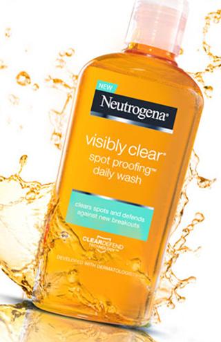 Produtos Neutrogena® Visibly Clear® Spot Proofing™